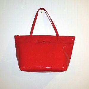 Kate Spade NY Camellia Street Sophie Tote Bag Red